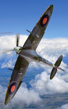 F&O Fabforgottennobility — michell169: Supermarine Spitfire