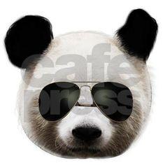 cool panda sunglasses T-Shirt