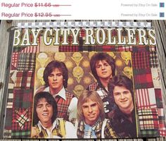 Free Shipping 1970s Bay City Rollers Record Album by BetheAbsurd, $7.00