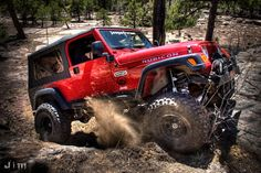 Jeep Rubicon on the Rubicon