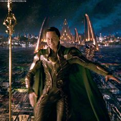 This is the one portion of the movie where Loki finds his true form, self and his spirituality. It must've Felt really good to him. The one moment of truth in his life where he didn't feel lost.