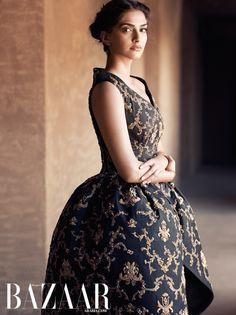 Sonam Kapoor looks drop-dead gorgeous in this Bazaar Arabia photo-shoot! | PINKVILLA
