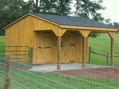See our 10 x 16 Shed Row Horse Barn w/ Service Door. For more quality products visit Penn Dutch Structures today! Horse Shed, Horse Barn Plans, Horse Stalls, My Horse, Horses, Horse Shelter, Mini Barn, Run In Shed, Small Barns