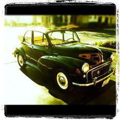 My buddy Alain's 1957 Morris Minor!  Totally Rebuilt!