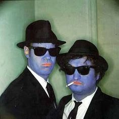 Dan Ackroyd & John Belushi as The Blues Brothers, 1979  ~ Photo by Anne Leibovitz