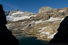 Marboré Lake - Glaciar de Monteperdido & Cilindro de Marboré behind. I've been there and is the prettiest of the Pyrenees
