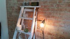 Work Lamp de Lux fra Hey there Hi. Passer rigtig godt til den rå murstensvæg