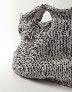 c3b6f86972b5 Knitted bag - Ideas Loom Knitting