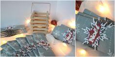 ronds de serviettes pour la déco de table de Noël