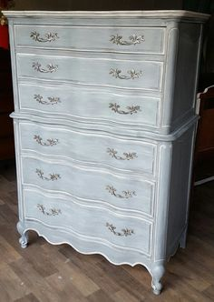 Available French Provincial chest of drawers by MazingsFurniture