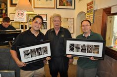 """Richard Harrison (""""The Old Man"""") received #AlphabetPhotography as a gift in the #PawnStars shop.  #RichardHarrison #LetterArt  #GoldandSilverPawnShop www.AlphabetPhotography.com Alphabet Photos, Alphabet Art, Letter Art, Pawn Stars, Alphabet Photography, Word Art, Old Things, Lettering, Words"""
