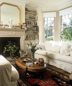 30 best Edwardian Living Rooms images | Little cottages, Living area ...