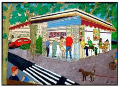 GINA Gallery of International Naïve Art deals in the procurement and sale of naïve art from all over the world Naive Art, Folk, Fair Grounds, Gallery, Artwork, Israel, Paintings, Artists, Photos