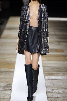 Theyskens' TheorySequined silk-crepe coat