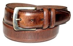 Columbia Men's 40mm Oil Tan Leather Edge Belt,Brown,36 Columbia. $21.00. Oil tan leather feather edge belt with stitch, Columbia logo harness buckle in nickel roller and antique. 0. Wash by hand with damp cloth. Imported. 100% Leather. leather. Save 25%!