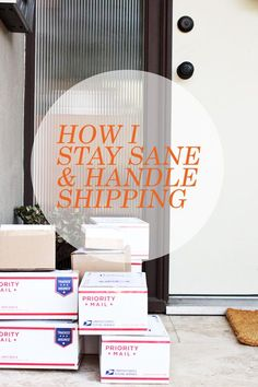 small business how to : shipping. - Elise Blaha :: enJOY it. business tips #succeed #business