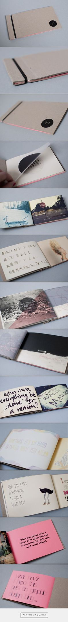 N°1 - Visual Diary By Josefin Holgersson More #BooksBinding