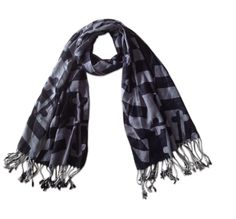 md greyscale scarf
