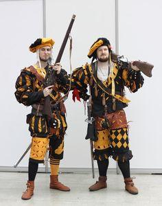 Warhammer Empire Landsknechts costumes by @borslarp