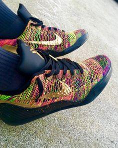 huge discount 4a8cc 99285 Nike Kobe 9 IX Multicolor ID elite low Kobe 9, Sneakers Nike, Shoe Game
