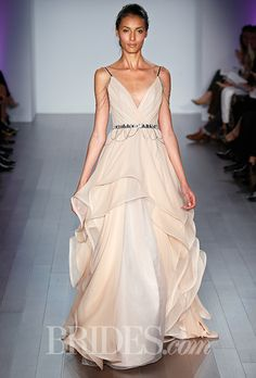 Brides: Hayley Paige Wedding Dresses   Fall 2015   Bridal Runway Shows   Brides.com | Wedding Dresses Style
