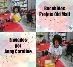 Verônica Neves: Caixinha cheia de amor! Projeto Old Mail