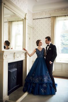 FOUR SIS & CO. Blue Dresses, Prom Dresses, Formal Dresses, Ball Gowns, Fashion, Birthday, Dresses For Formal, Ballroom Gowns, Moda