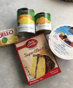 Weight Watcher's Sunshine Cake – Recipe Diaries Low Calorie Desserts, Ww Desserts, Low Calorie Recipes, Healthy Desserts, Healthy Recipes, Healthy Treats, Dessert Recipes, Plated Desserts, Healthy Food