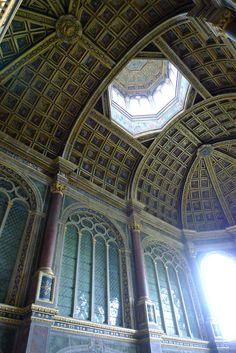 Ceiling View at Château de Fontainebleau
