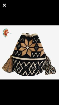 Crotchet Bags, Knitted Bags, Tapestry Crochet Patterns, Macrame Patterns, Filet Crochet, Knit Crochet, Wiggly Crochet, Mochila Crochet, Tapestry Bag