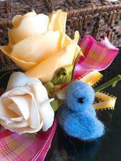Blue bird ....  Make a wish so it will bring happiness.