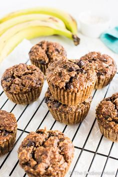 Coconut Almond Paleo Breakfast Muffins are grain-free, gluten-free, sugar-free, dairy-free and delicious. You don't have to be paleo to fall in love with these banana muffins. Paleo Dessert, Brunch Recipes, Breakfast Recipes, Breakfast Menu, Breakfast Ideas, Grain Free, Dairy Free, Gluten Free Breakfasts, Breakfast Muffins