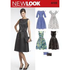 New Look Pattern 6723 Misses' Dresses