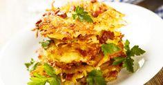 Recette de Röstis de pomme de terre allégés façon suisse. Facile et rapide à réaliser, goûteuse et diététique. Ingrédients, préparation et recettes associées.