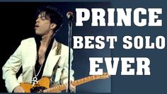 PRINCE *** BEST GUITAR SOLO EVER *** You will cry