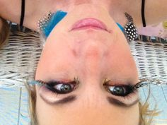 Blue Bird Eyes ... MUA Amy McGlinchey, Motives Cosmetics
