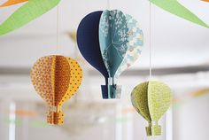 make your own hot air balloon