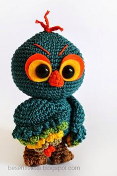 Mesmerizing Crochet an Amigurumi Rabbit Ideas. Lovely Crochet an Amigurumi Rabbit Ideas. Crochet Birds, Cute Crochet, Crochet Animals, Crochet Crafts, Crochet Projects, Owl Patterns, Amigurumi Patterns, Crochet Patterns, Owl Crafts