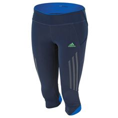adidas Women's Supernova NX 3/4 Tights - Navy