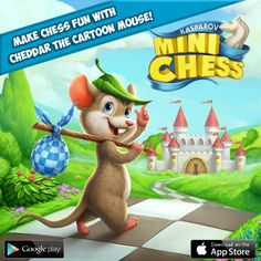 Get the kids to learn how to play chess with a colourful, fun and easy-to-play game - MiniChess by Kasparov!  The game in the App Store: https://itunes.apple.com/app/minichess-by-kasparov/id948607270   and on Google Play: https://play.google.com/store/apps/details?id=com.herocraft.game.full.minichess