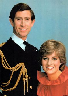This photograph was taken to commemorate Lady Diana Spencer's engagement to Prince Charles. This one didn't make the cut for the official postage stamps.