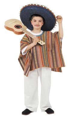 Disfraz de #mejicano para niño