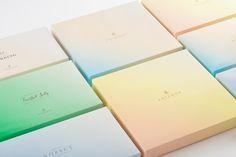 Summer gift set packaging for Antéoise designed by UMA