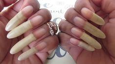 Long Fingernails, Long Nails, Sexy Nails, Engagement Rings, Beds, Beauty, Amazing, Natural Nails, Pretty Nails