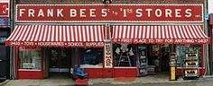 Store Front: The Disappearing Face of New York is a book that documents old school shop exteriors
