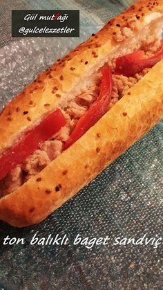TON BALIKLI BAGET SANDVİÇ | Marifetli Bloglar | Lezzetli Sofralar