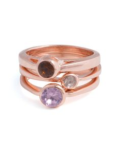 the look of stackable rings but solid, i like