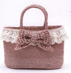 Crochet and knit cute bag and pouch #ClippedOnIssuu