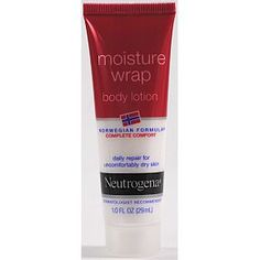 Neutrogena Norwegian Formula Moisture Wrap Body Lotion C02-0322002-8100 - 1.0 oz tube, a convenient travel size for on the go. Daily repair for uncomfortably dry skin.