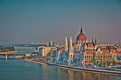 Hungarian Parliament Building by Ian McKenzie, via Flickr